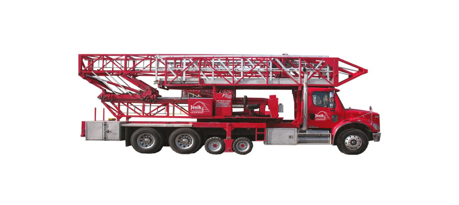 J-110/35 M : Underbridge Access Truck Mounted J-110/35 M