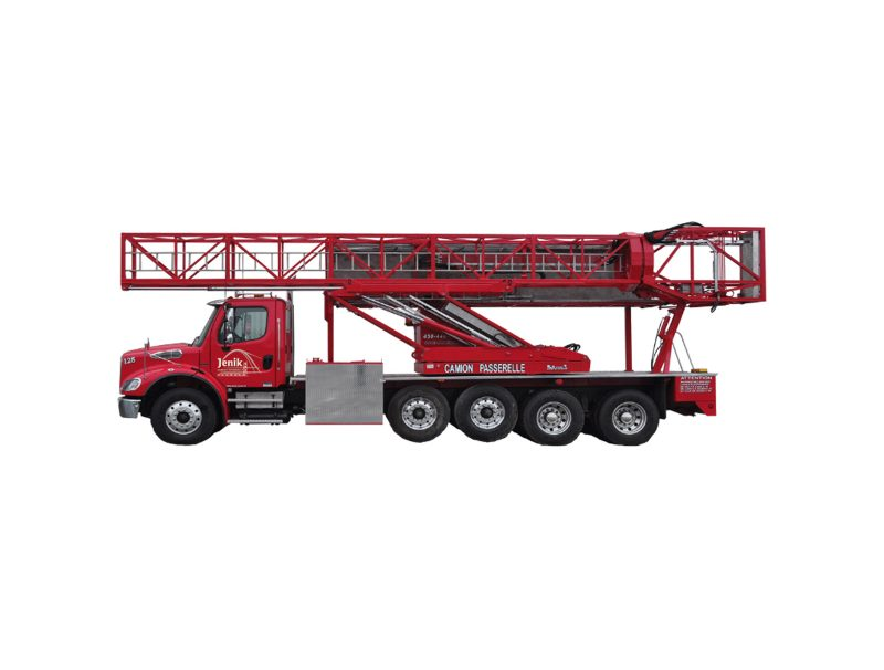 Underbridge Access Truck Mounted J-125/43 M