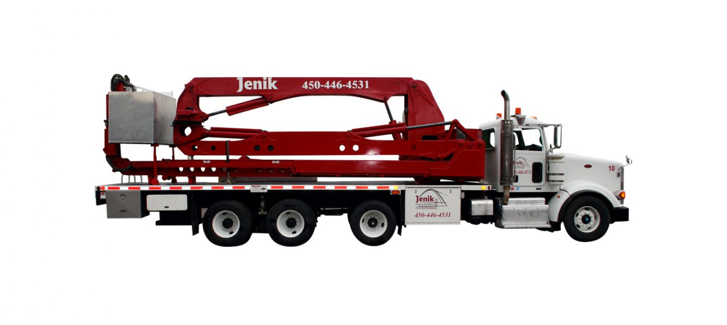 J-62 A : Aerial Bucket Truck J-62 A