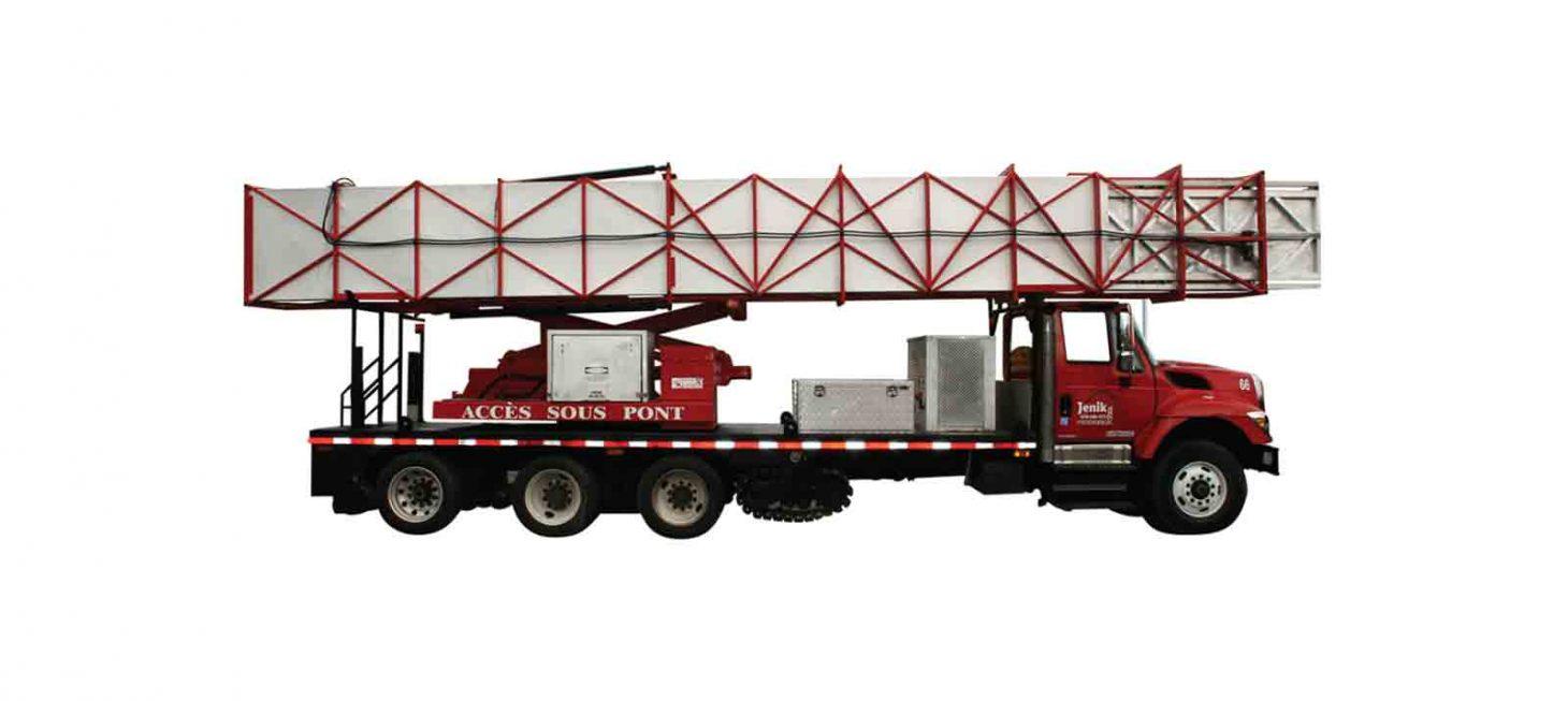 J-200/66 H : Underbridge Access Truck Mounted J-200/66 H