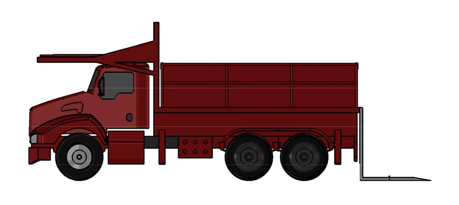 J-100PF/35 : Platform Truck J-100PF/ 35