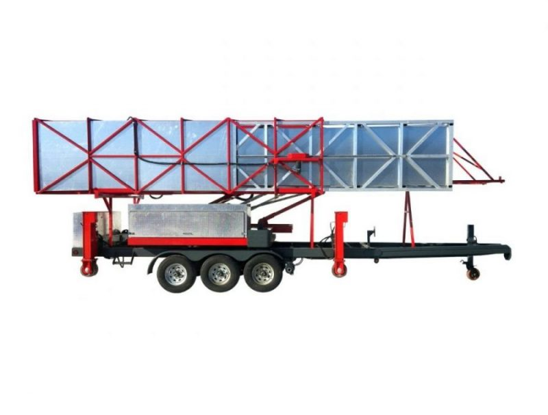 Underbridge access trailer J-100T/35 J