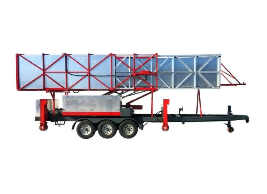 J-100T/35 J : Underbridge access trailer J-100T/35 J