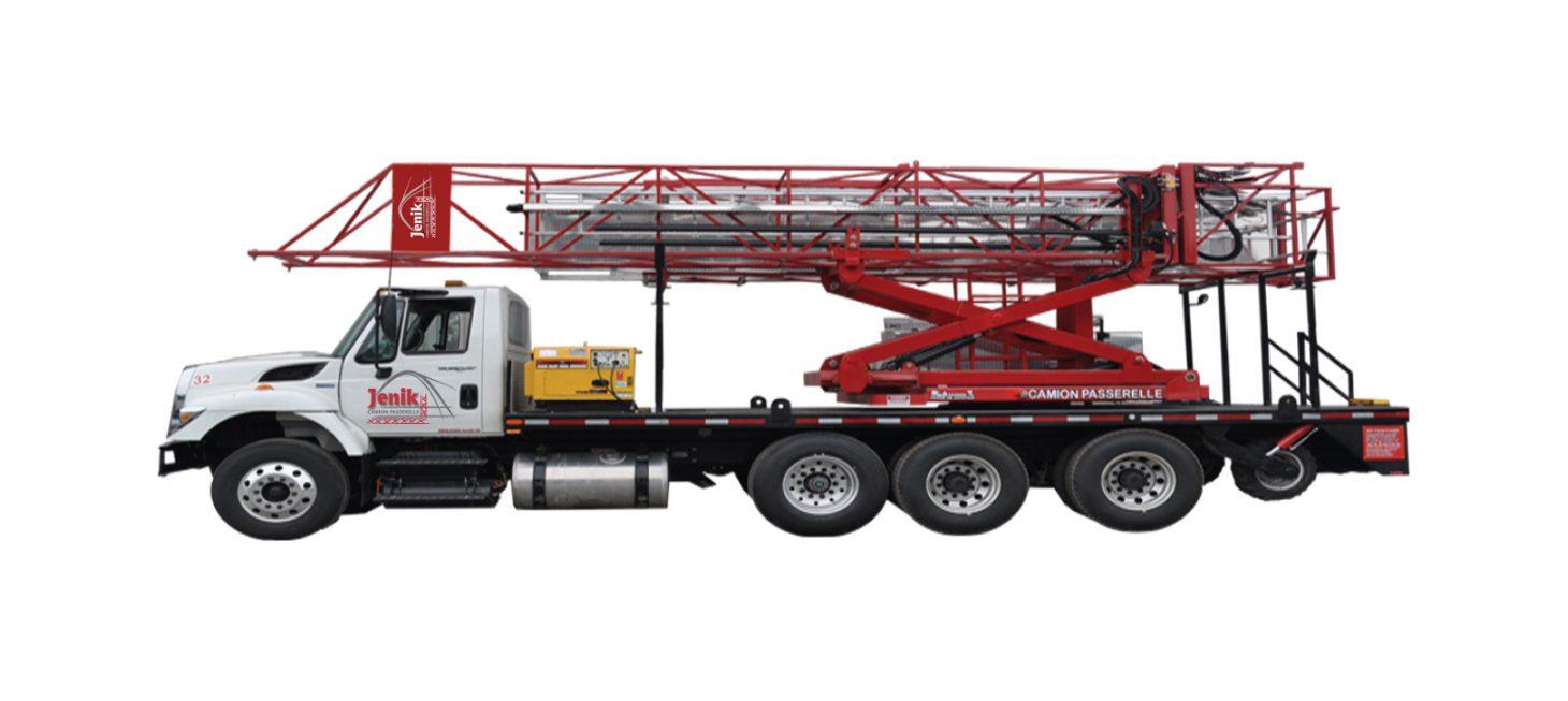 J-100/35 H : Underbridge Access Truck Mounted J-100/35 H