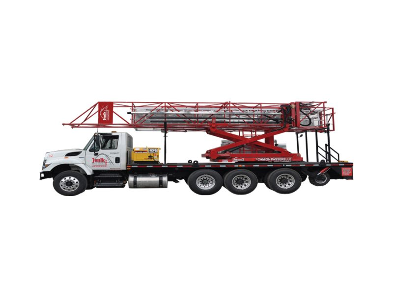 Underbridge Access Truck Mounted J-100/35 H