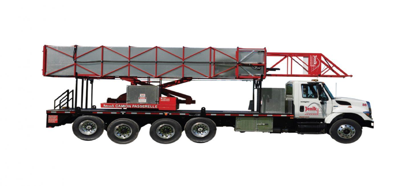 J-140/45 H : Underbridge Access Truck Mounted J-140/45 H