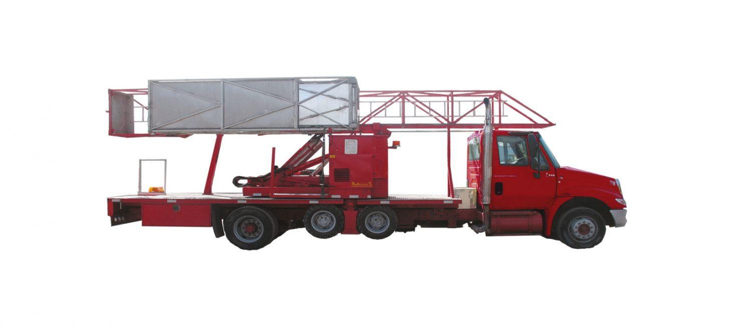 J-70/18 M : Underbridge Access Truck Mounted J-70/18 M