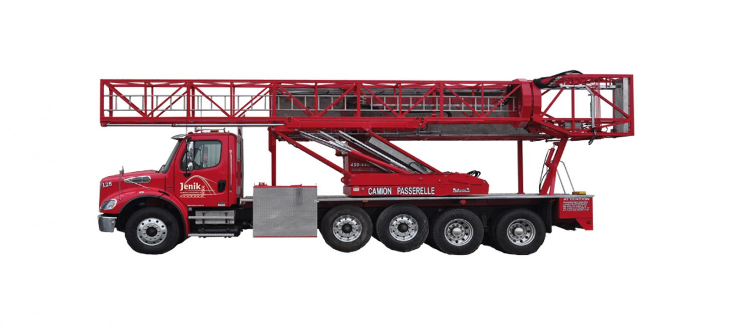 J-125/43 M : Underbridge Access Truck Mounted J-125/43 M