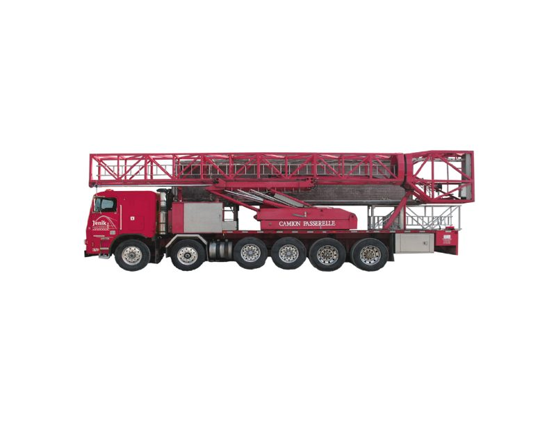 Underbridge Access Truck Mounted J-160/53 M