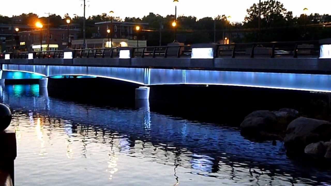Montcalm Bridge in Sherbrooke