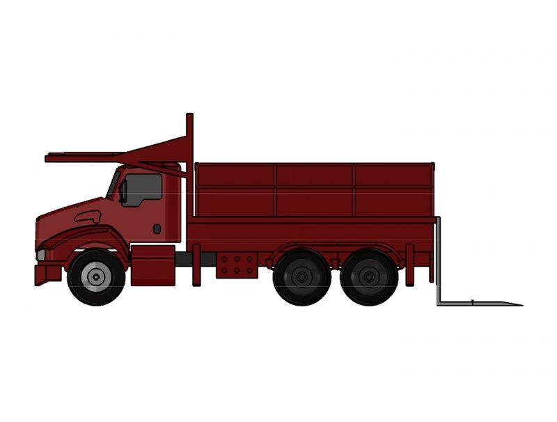 Platform Truck J-100PF/ 35